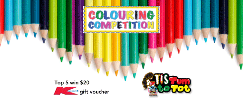 TIS Tum to Tot Colouring Competition