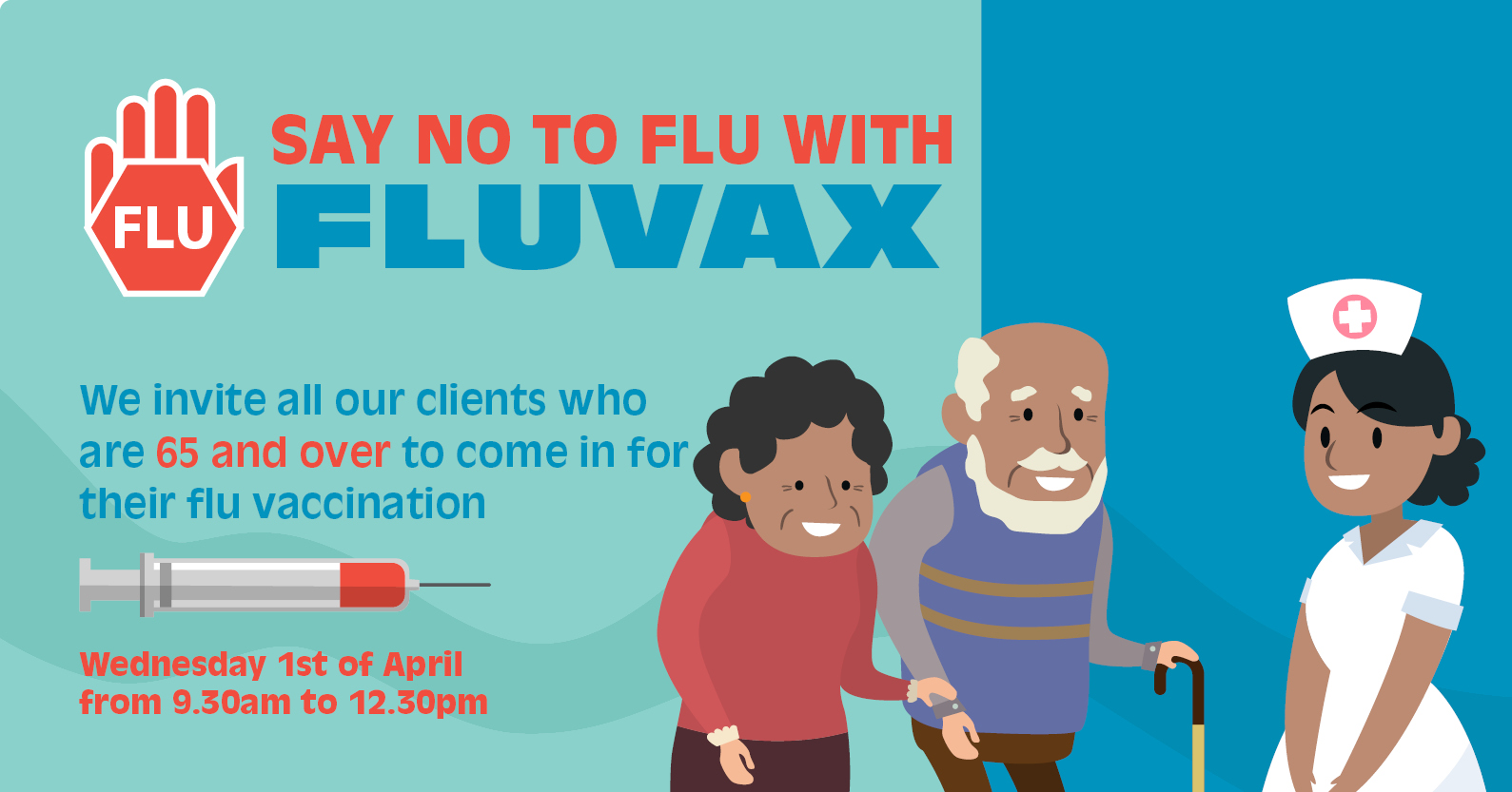 FLUVAX for 65 years old and over